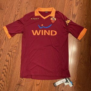 AS Roma Authentic Jersey, NWT, size XXL.